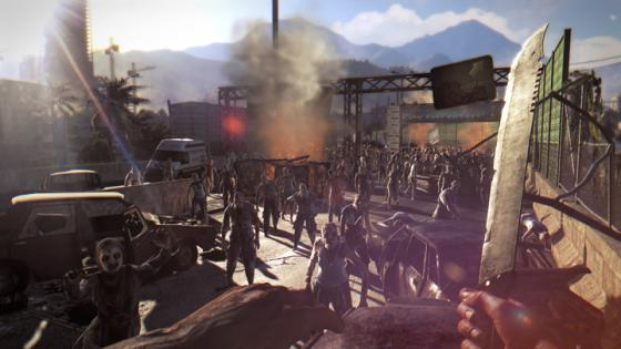 dying light zombie horde