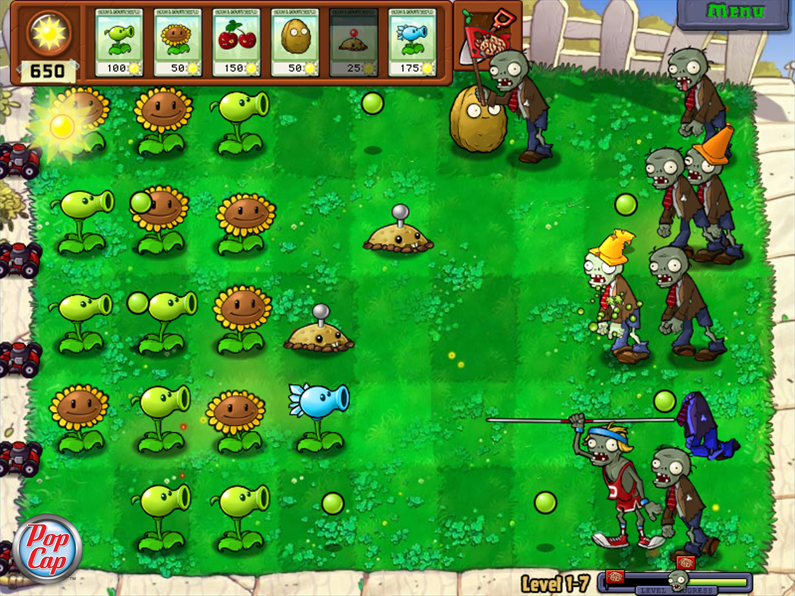 Plantas vs Zombies [Español] [Full] [Userscloud]