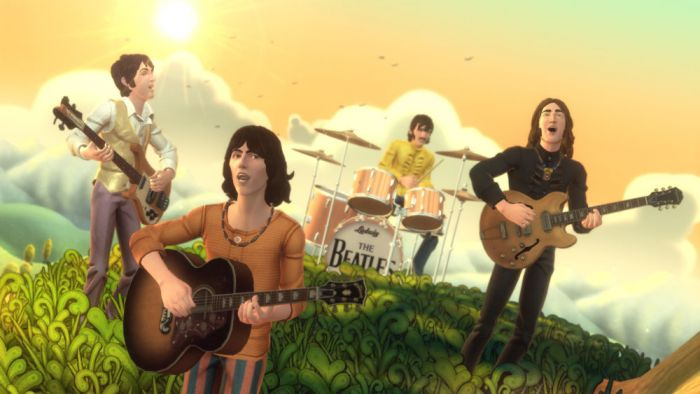 The Beatles Rock band 4