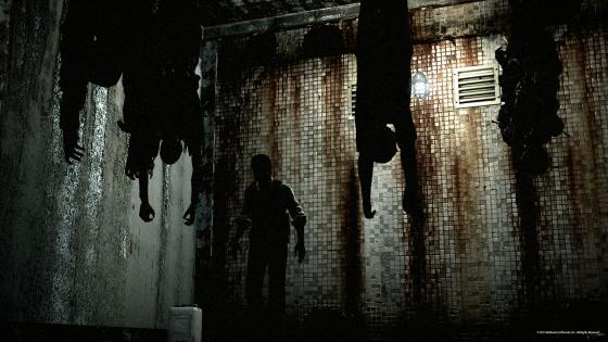 the evil within hanging bodies