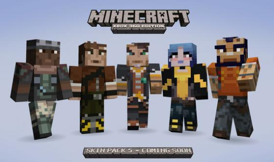 MineCraft Borderlands 2 Skins