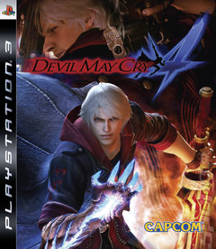 DMC4 PS3 Cover