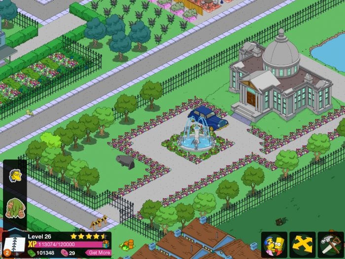 EA Mobile The Simpsons: Tapped Out Simulation The Simpsons: Tapped Out